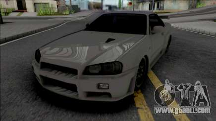 Nissan Skyline GT-R R34 2002 for GTA San Andreas