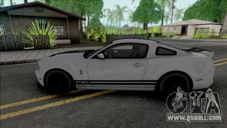 Ford Shelby GT500 2013 (SA Lights) for GTA San Andreas