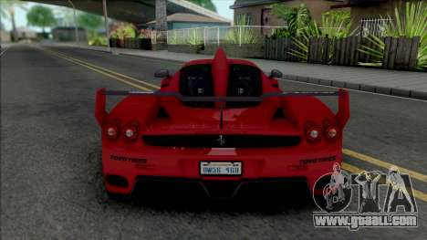 Ferrari Enzo 2002 Custom for GTA San Andreas