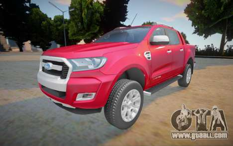 Ford Ranger Limited 2016 for GTA San Andreas