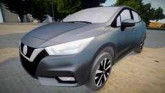 Nissan Versa 2020 (interior lowpoly)