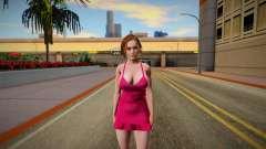 Jill Valentine Dress for GTA San Andreas