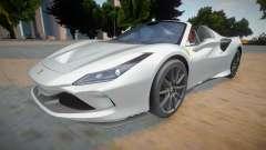 Ferrari F8 Tributo Spider for GTA San Andreas