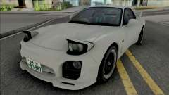 Mazda RX-7 FD3s A-Spec Initial D 4th Stage for GTA San Andreas