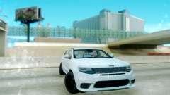 Jeep Grand Cherokee Black Rims for GTA San Andreas