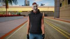 Anonimus estilo GTA ONLINE for GTA San Andreas