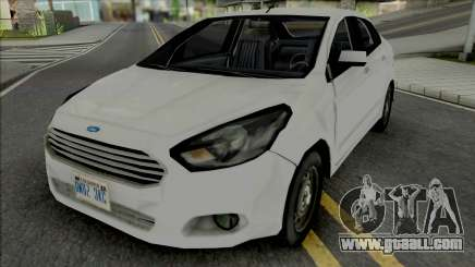 Ford Ka Sedan 2015 Improved for GTA San Andreas
