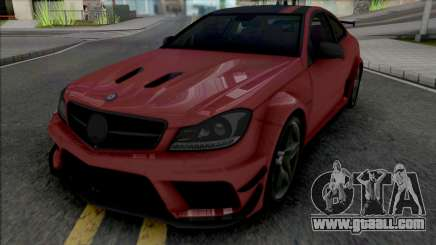 Mercedes-Benz C63 AMG Black Series (CSR Racing) for GTA San Andreas