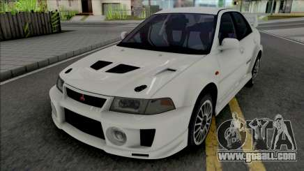 Mitsubishi Lancer Evolution V RS Edited for GTA San Andreas