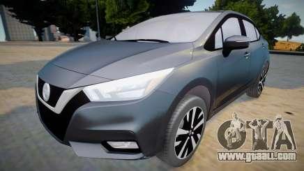 Nissan Versa 2020 (interior lowpoly) for GTA San Andreas
