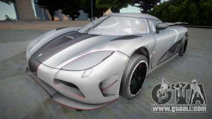 Koenigsegg Agera R APR04 for GTA San Andreas