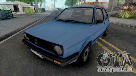Volkswagen Golf Mk2 TAS JX [5 Door] for GTA San Andreas
