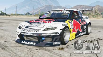 Mazda RX-8 Mad Mike〡add-on for GTA 5