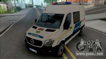 Mercedes-Benz Sprinter 2017 Hungarian Police for GTA San Andreas
