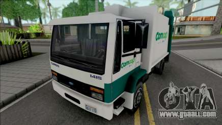 Ford Cargo 1415 Garbage Truck Comcap SC for GTA San Andreas