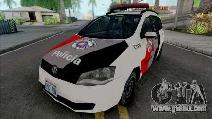 Volkswagen Spacefox 2012 PMESP for GTA San Andreas