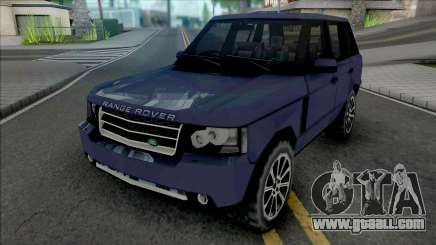 Land Rover Range Rover 2009 Improved v2 for GTA San Andreas