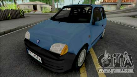 Fiat Seicento Blue for GTA San Andreas