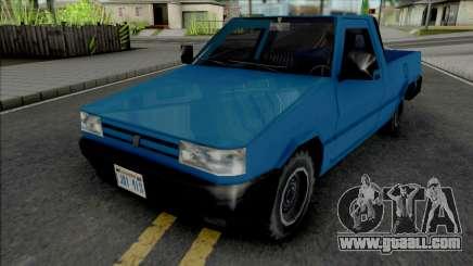 Fiat Fiorino 1995 (Pick Up) v2 for GTA San Andreas