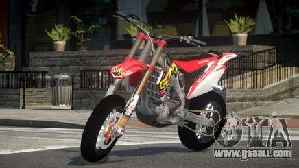 Honda CRF 250 L3 for GTA 4
