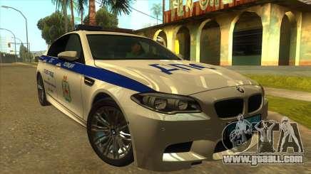 BMW M5 F10 GIBDD for GTA San Andreas