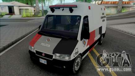 Fiat Ducato PMESP for GTA San Andreas