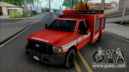 Ford F4000 Fire Brigade for GTA San Andreas