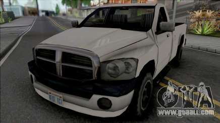 Dodge Ram 2500 2008 Improved for GTA San Andreas