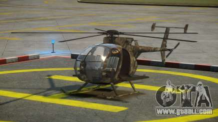 Boeing MH-6M for GTA 4