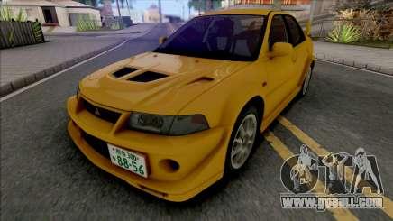 Mitsubishi Lancer Evolution VI GSR T.M.E Edited for GTA San Andreas
