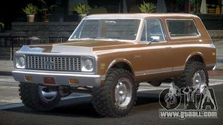 Chevrolet Blazer 70S for GTA 4
