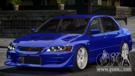 Mitsubishi Lancer Evolution VII PSI for GTA 4