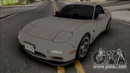 Mazda Efini RX-7 Type R (FD) 1991 Improved for GTA San Andreas