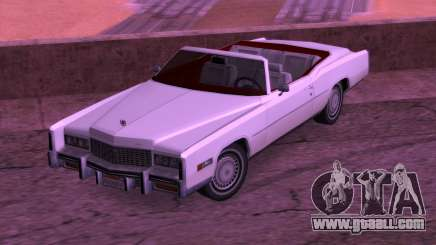 Cadillac Fleetwood Eldorado 1976 for GTA San Andreas