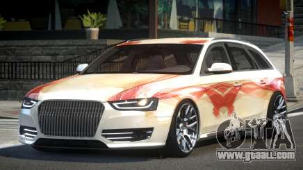 Audi RS4 BS-R PJ10 for GTA 4
