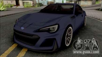Subaru BRZ STi 2016 for GTA San Andreas