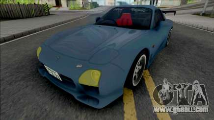 Mazda RX-7 FD3S A-Spec Wangan for GTA San Andreas