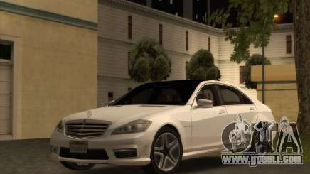 Mercedes-Benz S65 W221 AMG for GTA San Andreas