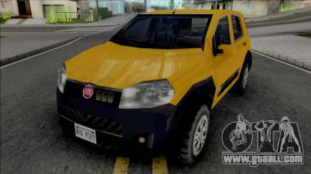 Fiat Uno Way 2011 for GTA San Andreas
