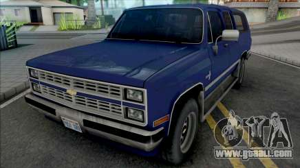 Chevrolet Suburban 1986 Improved for GTA San Andreas