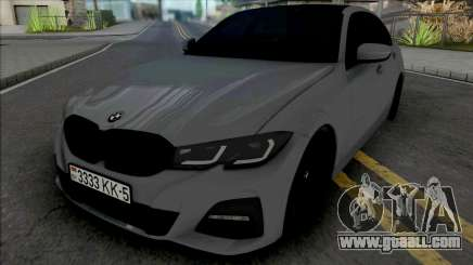 BMW 320i M Sport 2020 for GTA San Andreas