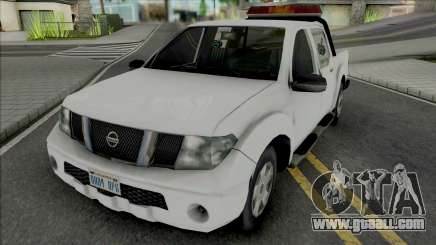 Nissan Frontier Tow Truck for GTA San Andreas