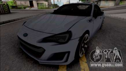 Subaru BRZ tS for GTA San Andreas