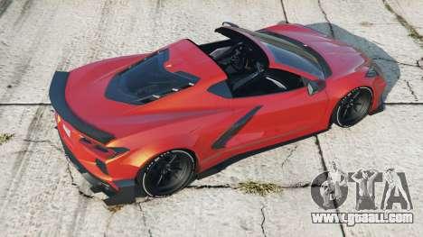 Chevrolet Corvette Stingray Mansaug (C8) 2020