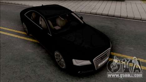 Audi A8 [HQ] for GTA San Andreas