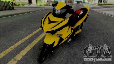 Yamaha Y15ZR V2 Sniper Kuning for GTA San Andreas