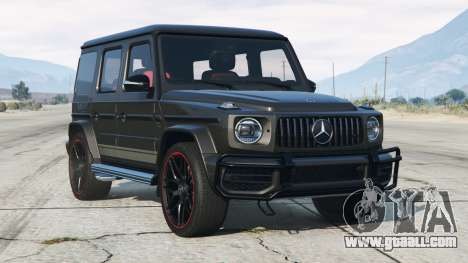 Mercedes-AMG G 63 (Br.463) 2019〡add-on v2.0