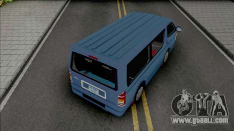 Toyota Hiace [IVF] for GTA San Andreas