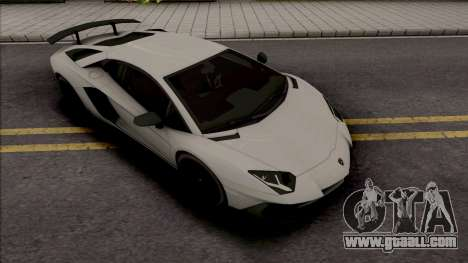 Lamborghini Aventador SV Coupe for GTA San Andreas