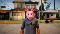 Pig Mask (Diamond Casino Heist) for GTA San Andreas